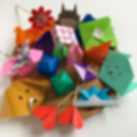Atelier origami enfant Libellule & Sakura
