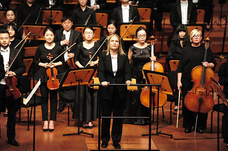 Talia in concert with the Guiyang Sympho