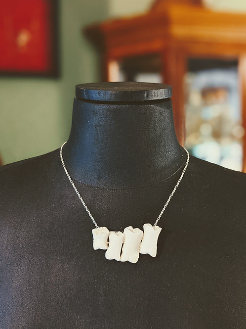 Wild Boar Second Phalange Necklace (4)