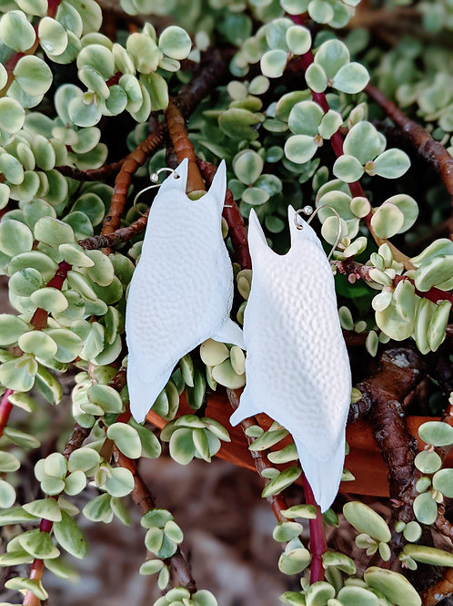 Softshell Turtle Plastron Earrings