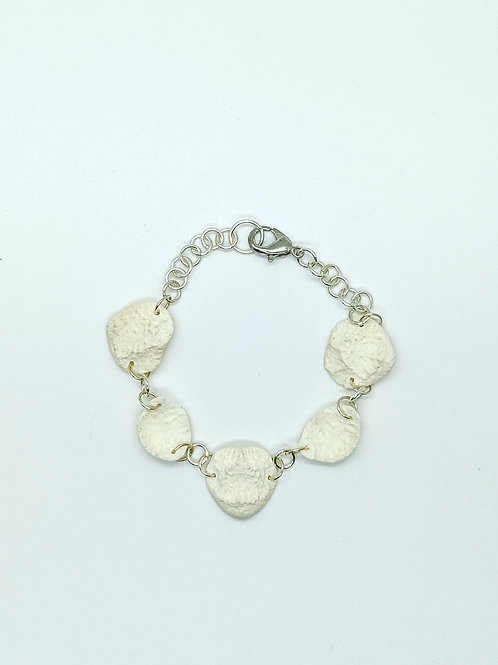 Raccoon Vertebrae End Cap Bracelet