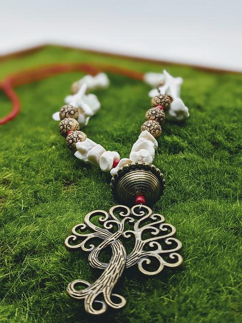 Softshell Turtle Vertebrae & Carpal Necklace
