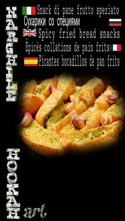 Snack di pane fritto