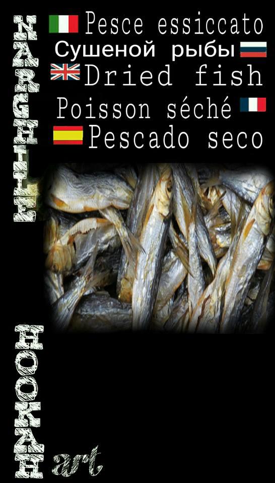 Pesce assiccata