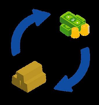 Compras de ouro e Postos de DTVM