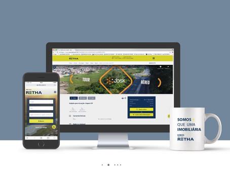 Novo site da Retha oferece melhorias na experiência do usuário