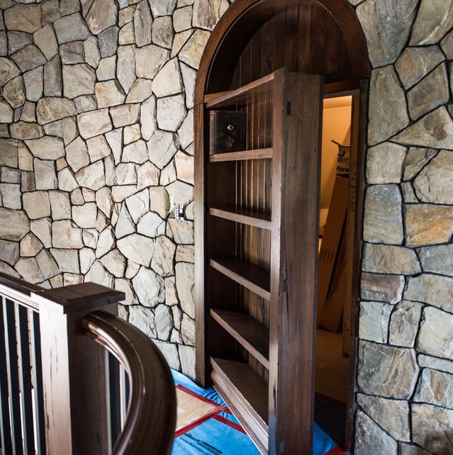 Custom Hidden Bookcase