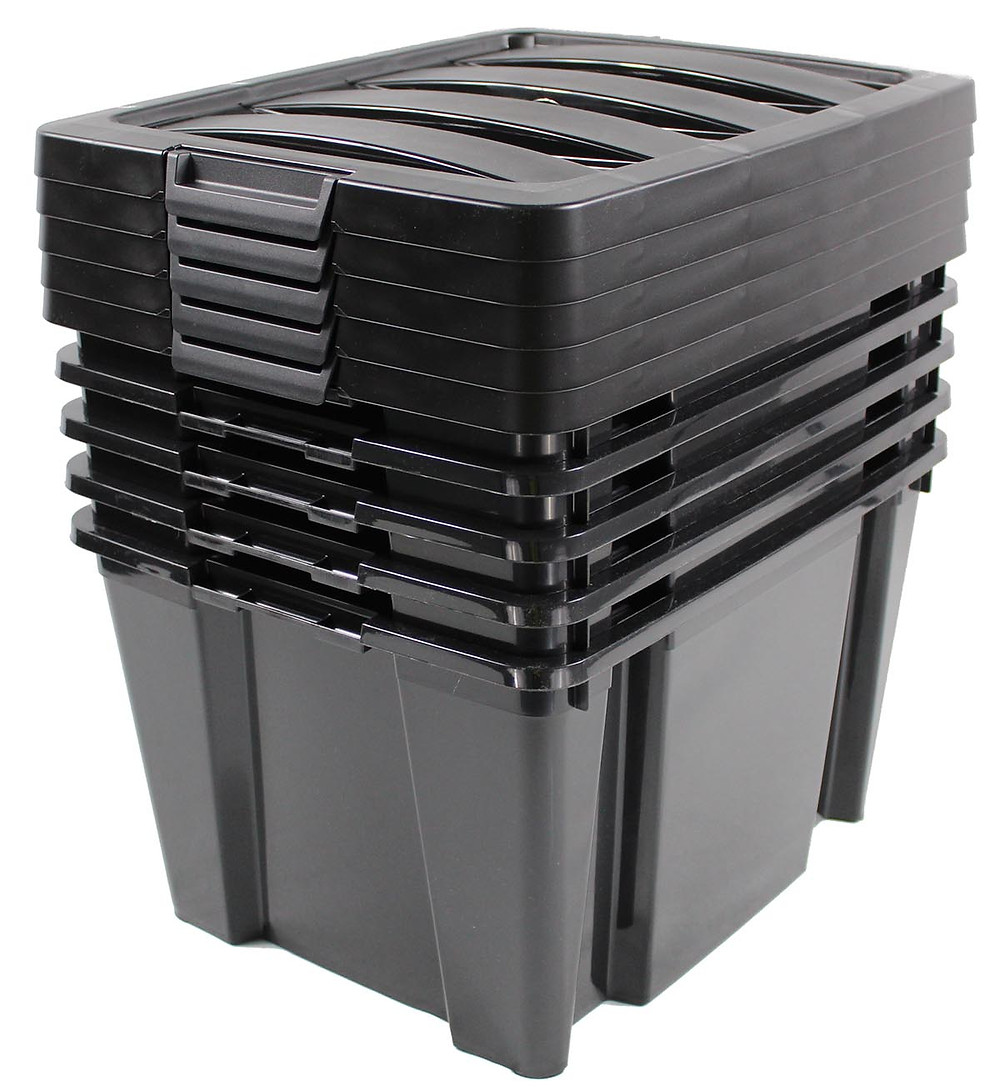caisse plastique malle solide pour déménager