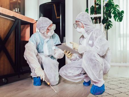 Comment se déroule un nettoyage après décès?