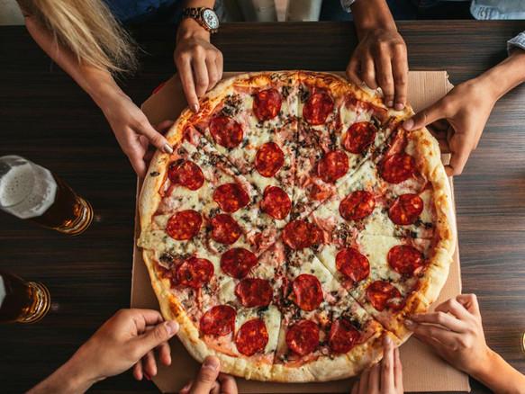 Pizza à emporter Lyon