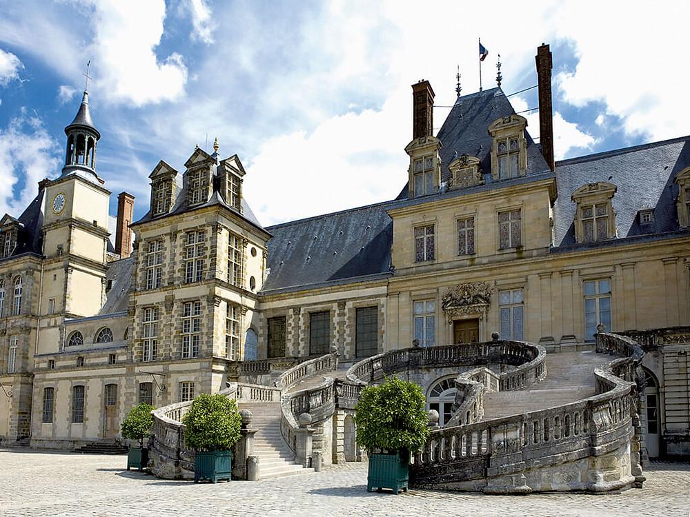 château de fontainebleau histoire