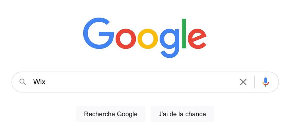référencement google wix