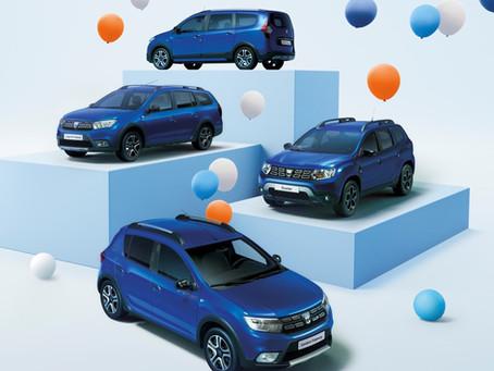 Dacia fête son 15e anniversaire avec une gamme dédiée.