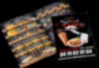 graphisme kebab lyon, menu kebab impression, flyer