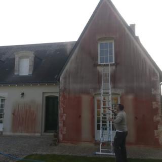 nettoyage de façade haute pression