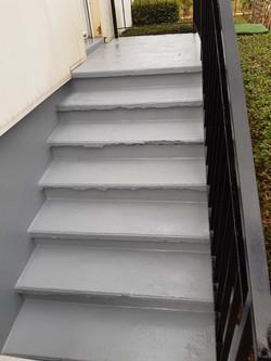 rénovation escalier peinture