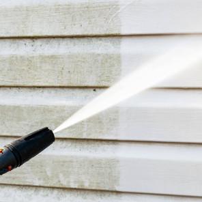 nettoyage façade haute pression