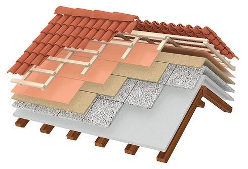 construction d'une toiture tuiles canal réfection cote d'azur alpes maritimes