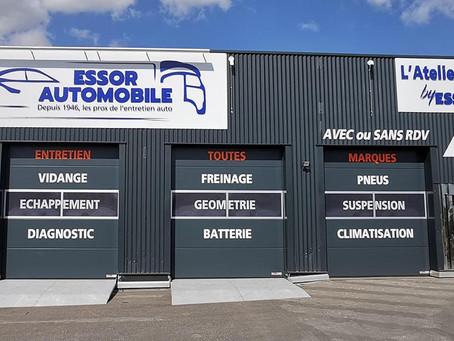 Reims : Essor ouvre un Centre Auto d'un nouveau genre.