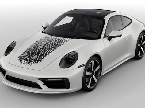 Porsche imprime votre empreinte digitale sur le capot!