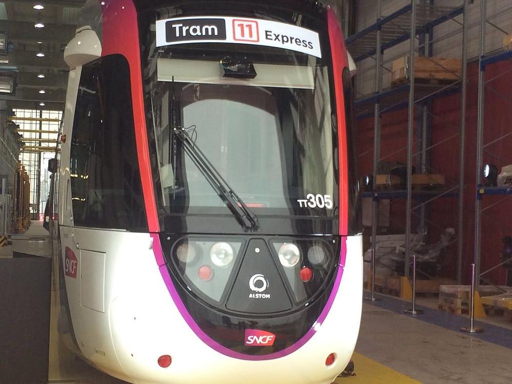 Tramway T11 Express actualité