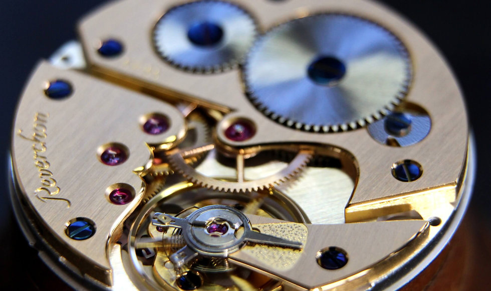 décoration horlogère anglage à genève en suisse