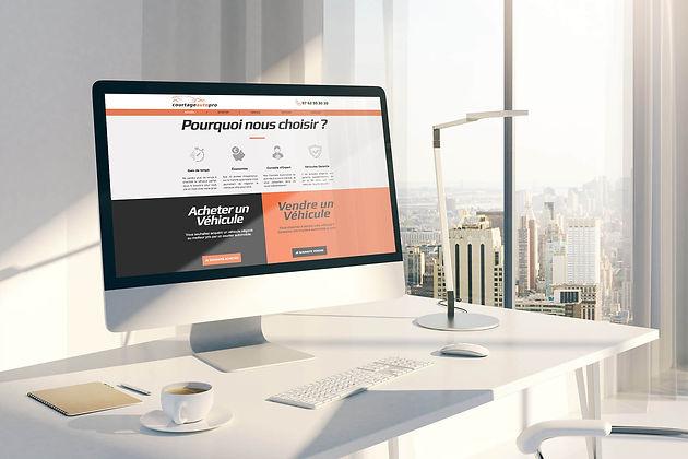 Création De Site Internet : Courtage Auto Pro