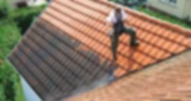 démoussage de toiture angers
