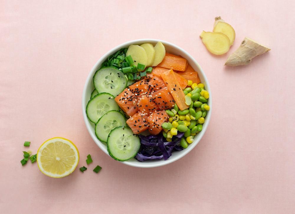 un restaurant de poke bowl sur lyon