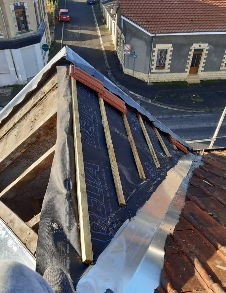 Couverture toiture 44