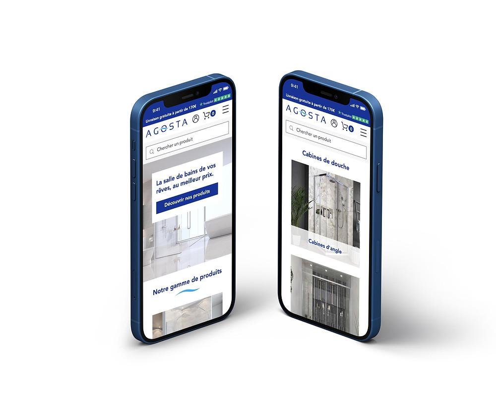 exemple de boutique en ligne CMS wix
