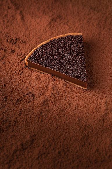photographe culinaire à paris, dessert au chocolat