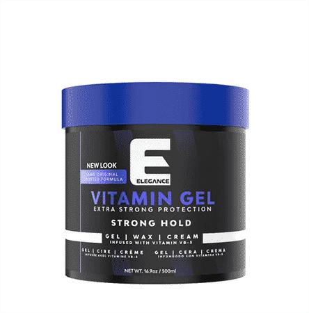 Elegance extra strong hair gel 250-ml