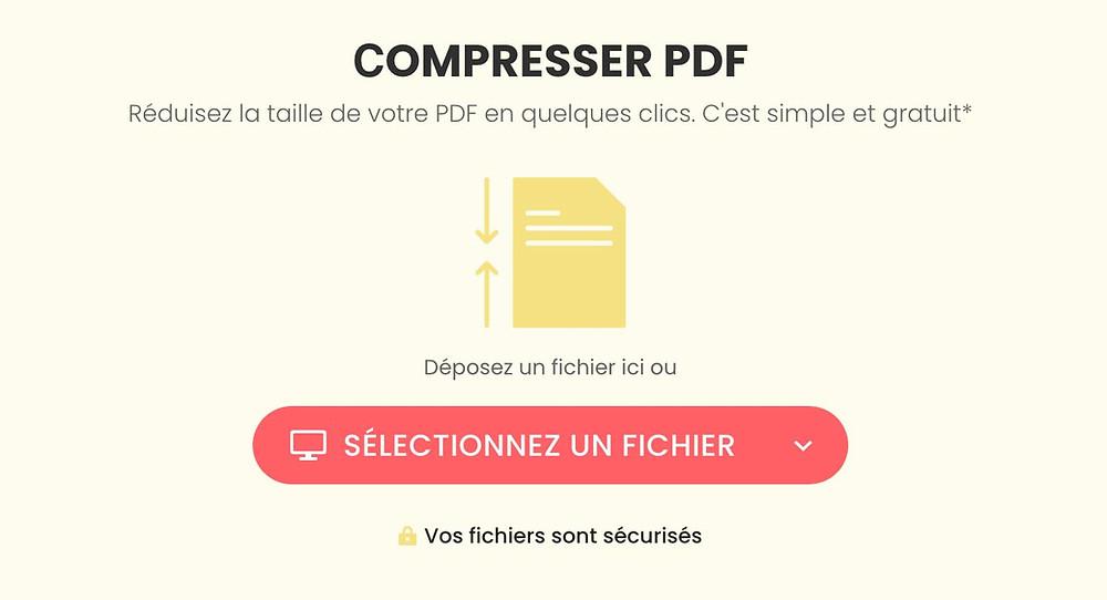 Réduire la taille d'un fichier PDF