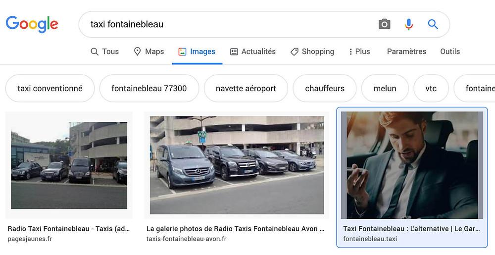 Résultat google images référencement