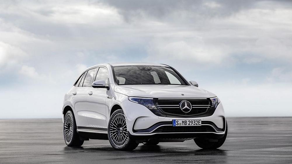 Mercedes EQC suv électrique