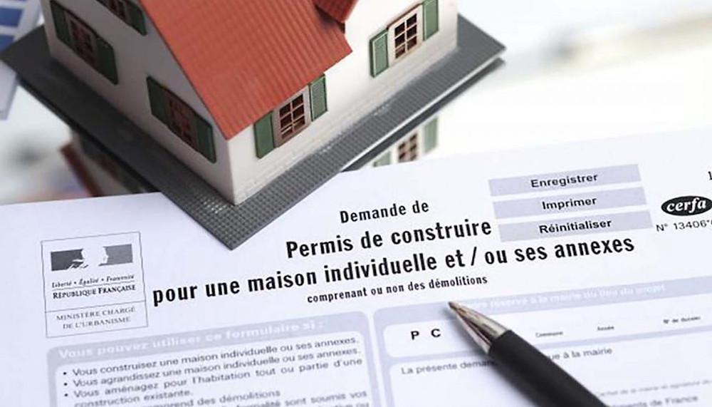 un permis de construire français