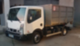 location de camion benne avec chauffeur