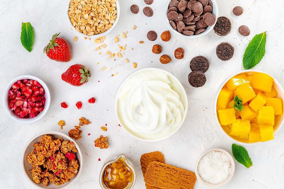 frozen yogurt livraison lyon
