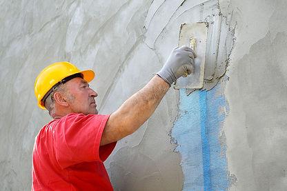 restauration de façade ancienne à lançon de provence
