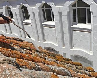 traitement toiture démoussage haute pression bordeaux