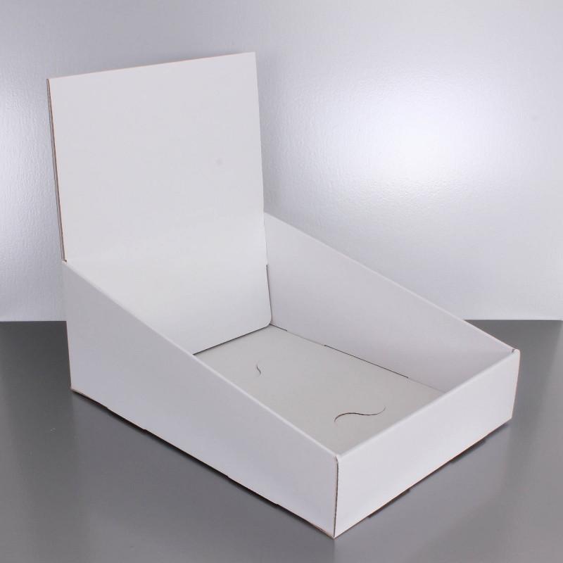 un présentoir carton en PLV