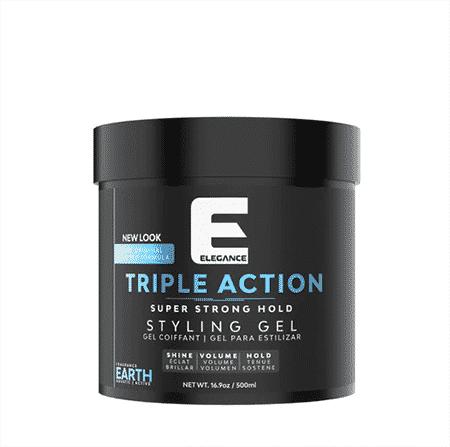 elegance triple action hair gel la réunion 974 dom tom livraison