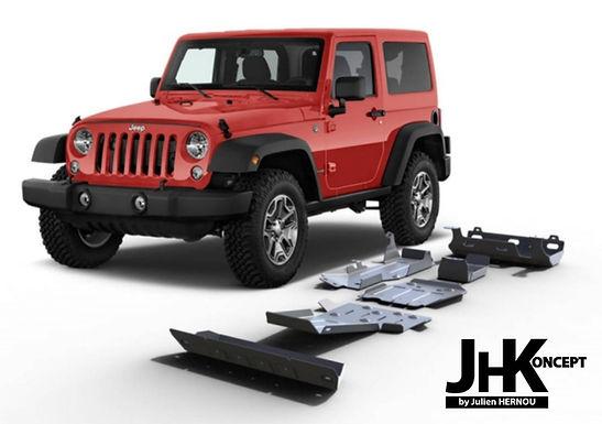 blindage rival jeep wrangler jk