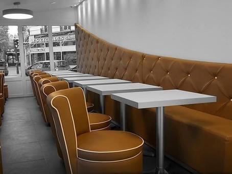 Le fauteuil : la tendance des restaurants chics