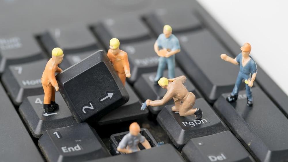 réparer panne d'ordinateur
