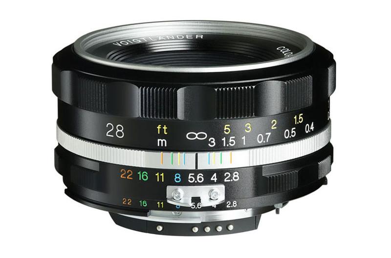 Nouveau Voigtlander 28mm F2.8 pour Nikon F, un plaisir pour les yeux.