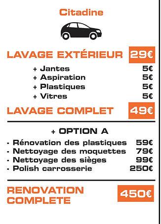 tarif lavage aut montreuil