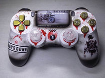 manette ps4 custom days gone