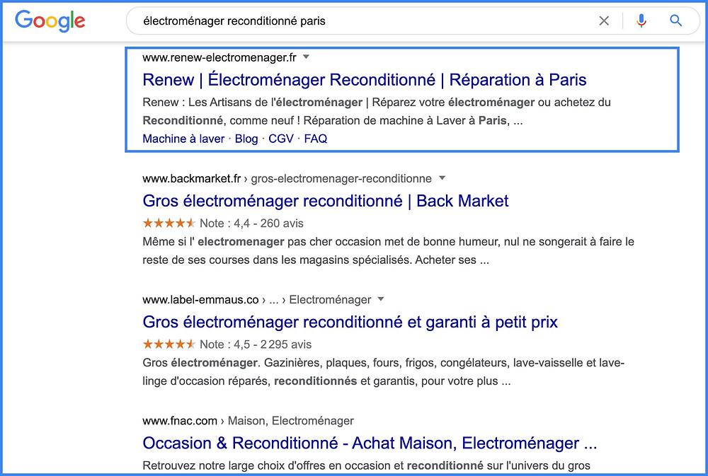 référencement de site Wix, par un expert Wix à Paris